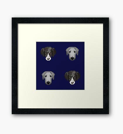NDVH Dogs Framed Print