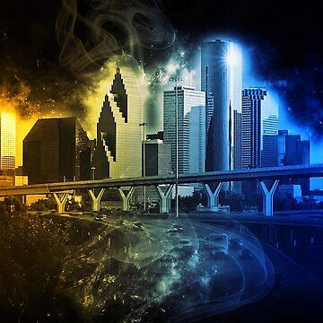 Houston Skyline by ErianAndre