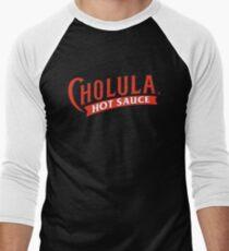 Cholula Hot Sauce Men's Baseball ¾ T-Shirt