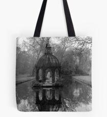 Garden at the Chateau de Chantilly Tote Bag