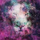 Galaxy Lion by EmeraldSora