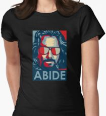 Dude Abides Women's Fitted T-Shirt