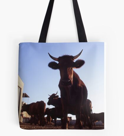 Silly Cow Tote Bag
