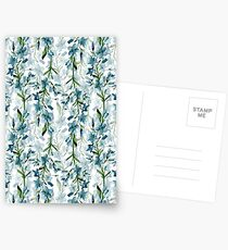 Blue branches Postcards