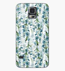 Funda/vinilo para Samsung Galaxy Ramas azules