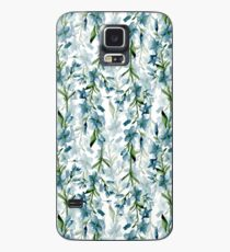 Blue branches Case/Skin for Samsung Galaxy