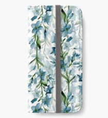 Blue branches iPhone Wallet/Case/Skin