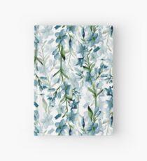 Cuaderno de tapa dura Ramas azules