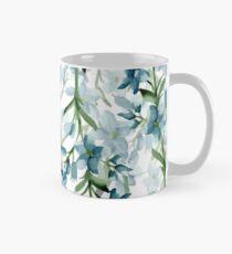 Blue branches Mug