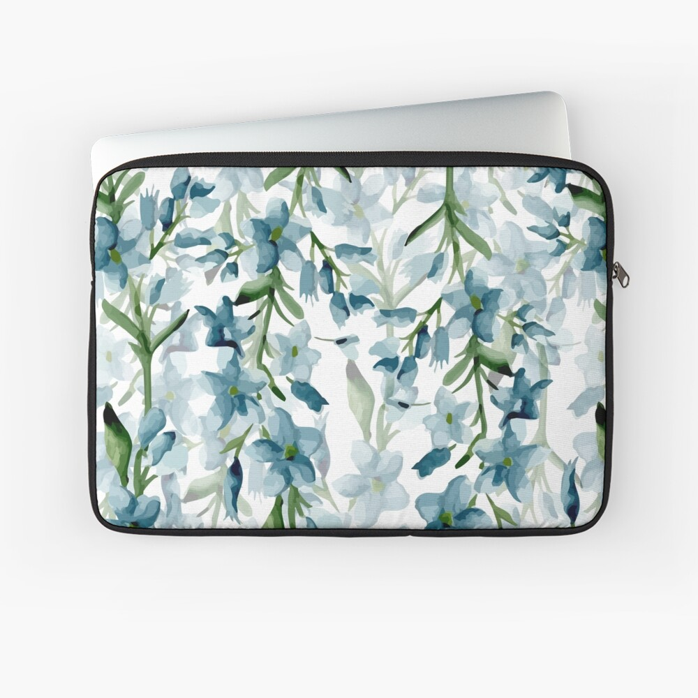 Blue branches Laptop Sleeve