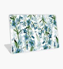 Blaue Zweige Laptop Folie
