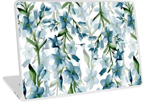 Blaue Zweige von JuliaBadeeva