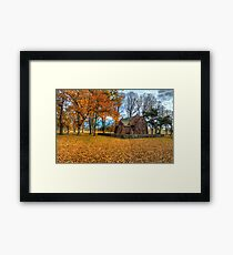 Blessed  - All Saints Church - Gostwyck NSW - The HDR Experience Framed Print