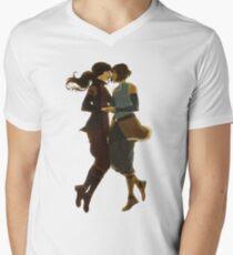 Eine echte Paarung T-Shirt mit V-Ausschnitt