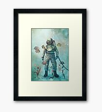 Deep Sea Garden Framed Print
