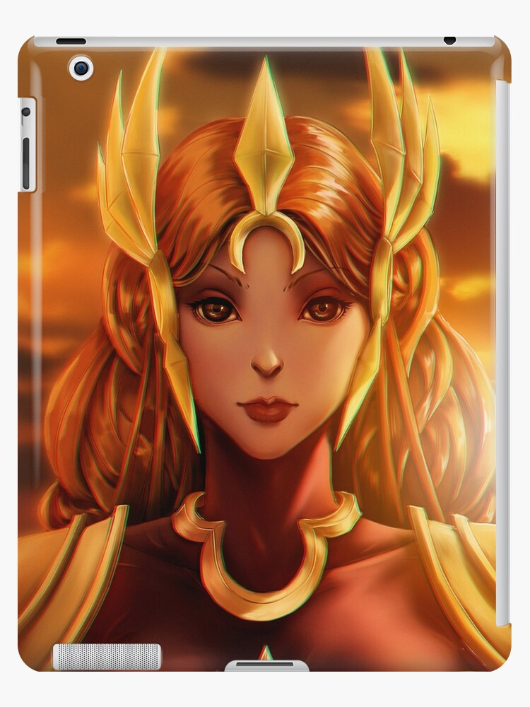 Leona League Of Legends Fanart Ipad Cases Skins By Francismaryart
