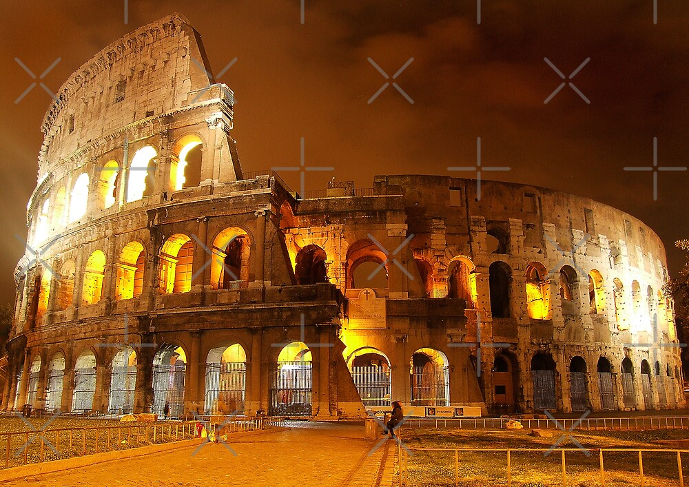 Coliseum Front by Charlie Reds
