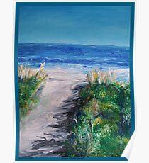 Jersey Shore Dunes  Poster