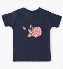 Watercolor rose Kids Clothes