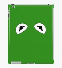 The Frog is watching iPad Case/Skin