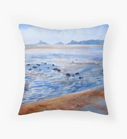 Swansea Bay Throw Pillow