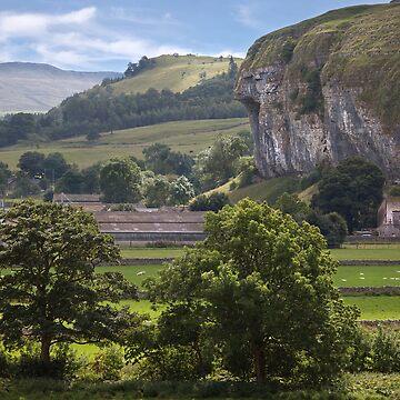 Kilnsey's Limestone Crag by SteveMG