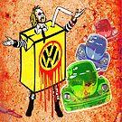 Vintage Beetle Juice by Alan Hogan