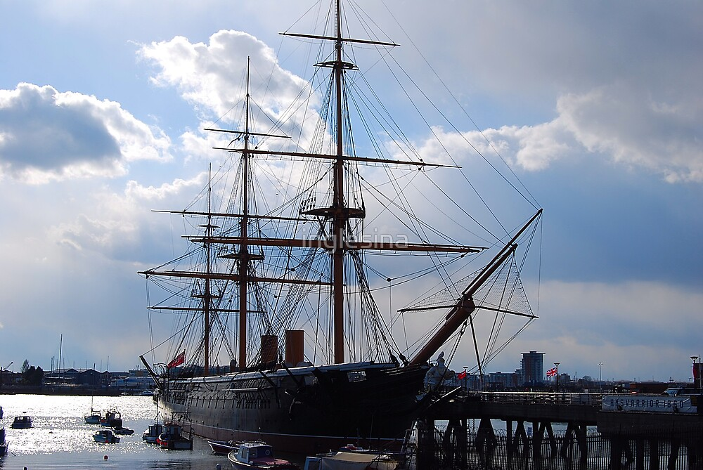 HMS Warrior, Portsmouth by inglesina