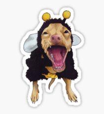 Tuna - bee costume Sticker
