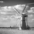 Infra red Thurne Windmill! by Carole Stevens