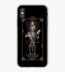 The Reader X Tarot Card iPhone Case