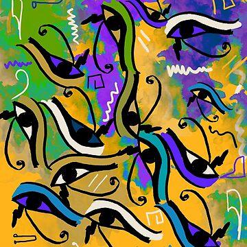 Horus Eye 2 by NoraMohammed