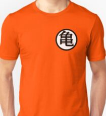 Goku Kame Symbol Design Slim Fit T-Shirt