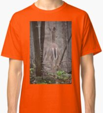 Deer Looks in Ravine Classic T-Shirt