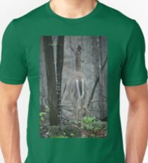 Deer Looks in Ravine Unisex T-Shirt
