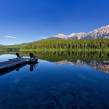 Patricia Lake and Pyramid Mountain, Jasper by charlesk