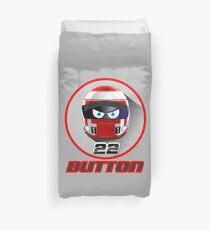 Jenson BUTTON_2014_Helmet #22 Duvet Cover