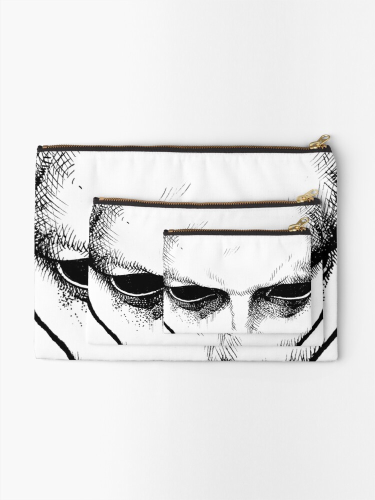 Alternate view of MASK Zipper Pouch