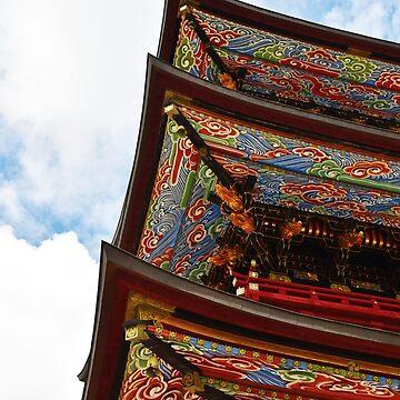 Narita shinto temple by rainbowcho