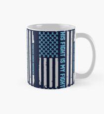 Prostate Cancer Awareness Ribbon T-shirt Tee Gift Mug