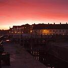 Sunset over Bridgwater Quay by kernuak
