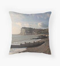 St Margaret's Bay - Kent Throw Pillow