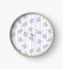 Nancy's Baby Elephants Clock