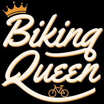 Biking Queen Biking Couple - Funny Cycling  Gift by yeoys