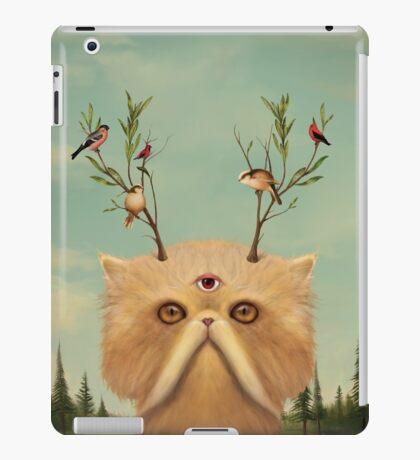 Cat Deity iPad Case/Skin