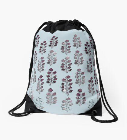 Eucalyptus Garden Drawstring Bag