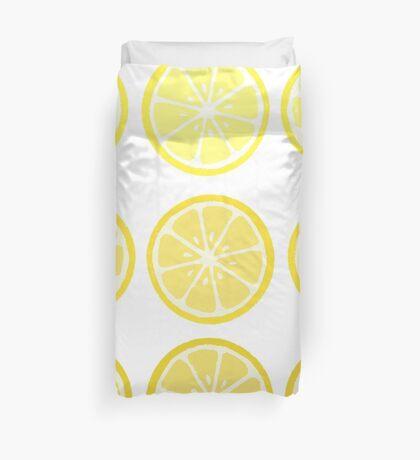 Gradient Lemons Duvet Cover