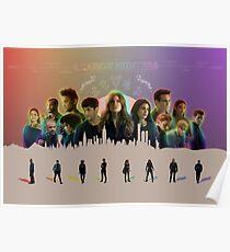 Shadowhunters Through the Seasons Poster