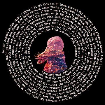 The Wombats // Pink Lemonade Vinyl Style Print by DesignedByOli