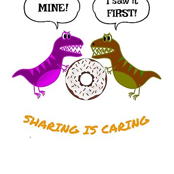 Sharing is Caring by miniverdesigns